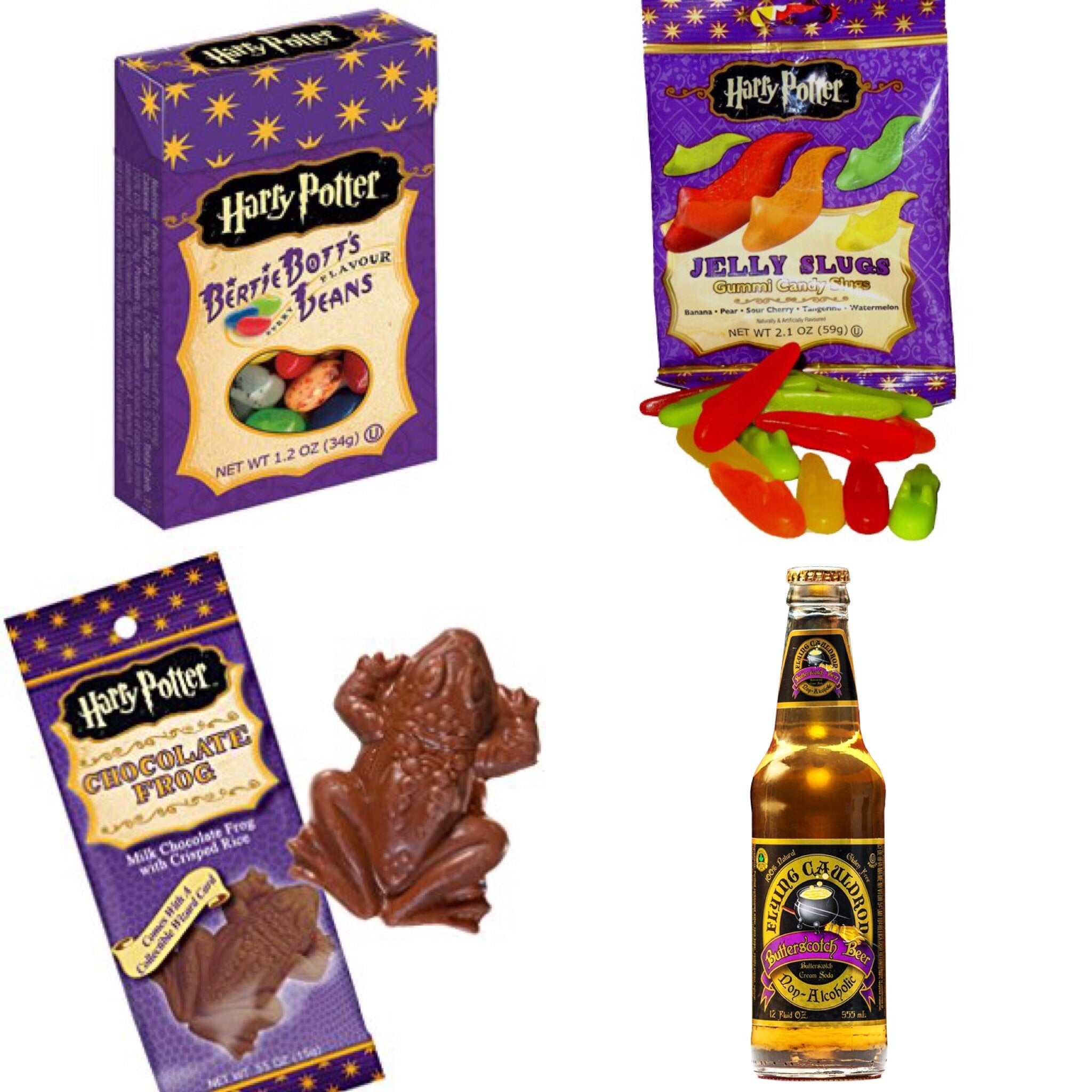 Harry Potter Candy Bundle with Butter Beer! (4 items) - A Taste of the States
