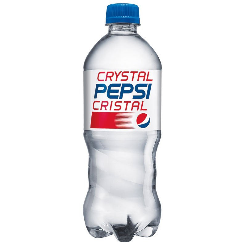 Crystal Pepsi 20oz (591ml) Limited Edition! - A Taste of the States