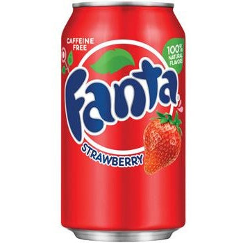 Fanta Strawberry (12fl.oz) - A Taste of the States