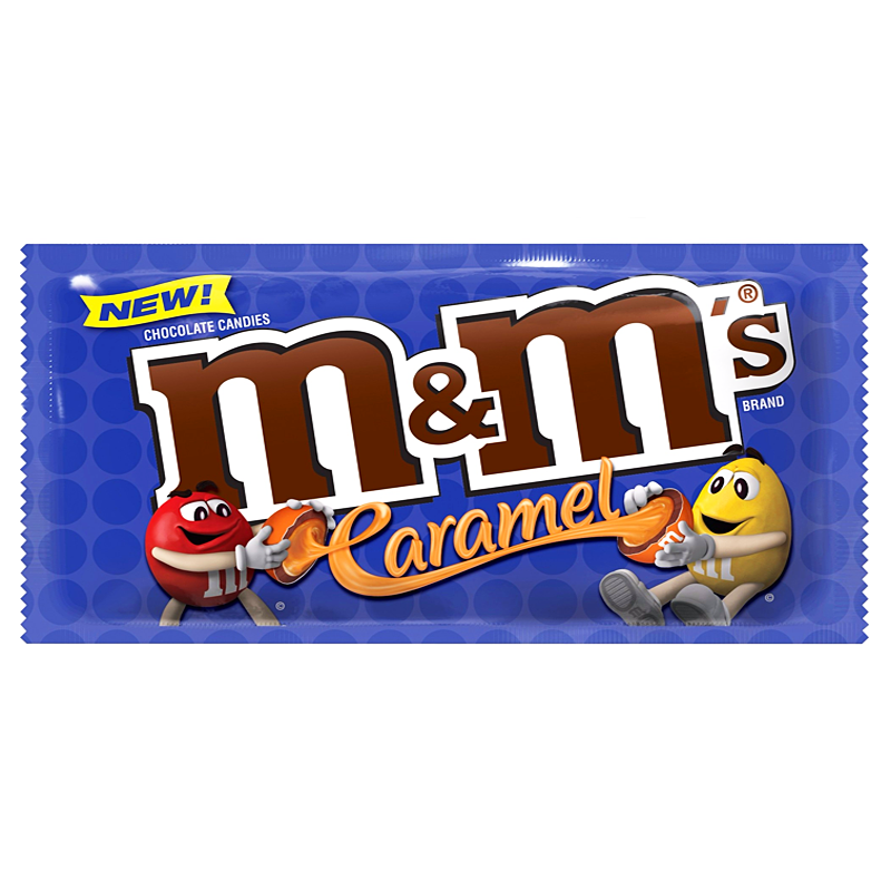 M&M's Caramel 1.41oz (40g) - A Taste of the States