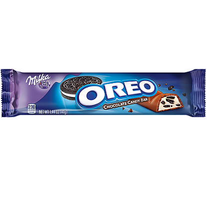 Milka Oreo Milk Chocolate (1.44oz) - A Taste of the States