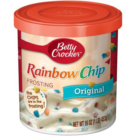 Betty Crocker Rainbow Chip Frosting (450g) - A Taste of the States