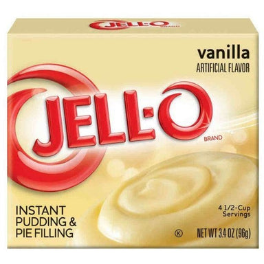 Jell-o Vanilla Instant Pudding Mix (3.4oz) - A Taste of the States