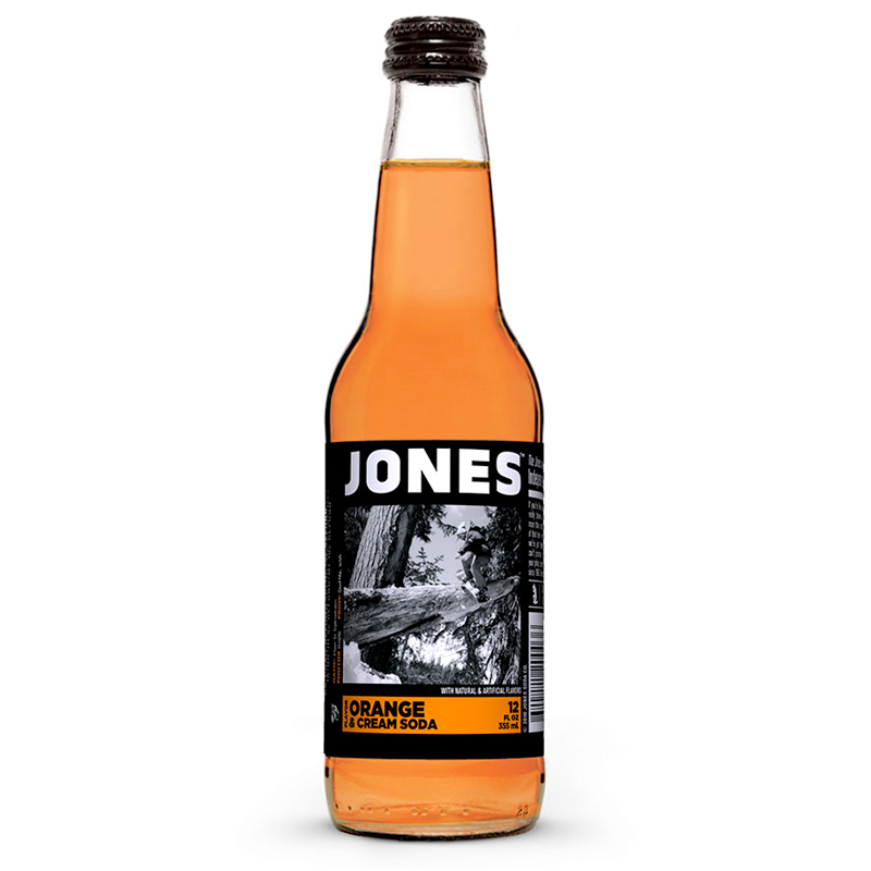 Jones Orange & Cream Soda (12fl.oz)