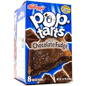 Kellogg's Pop Tarts Frosted Chocolate Fudge (8 pack) - A Taste of the States