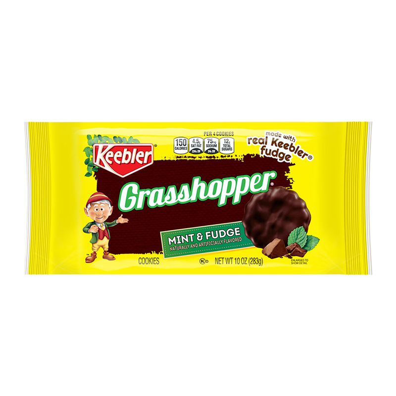 Keebler Grasshopper Mint & Fudge Cookies (10oz)
