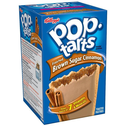 Kellogg's Pop Tarts Brown Sugar Cinnamon (8 pack) - A Taste of the States