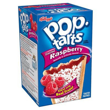 Kellogg's Pop Tarts Frosted Raspberry (8 Pack) - A Taste of the States