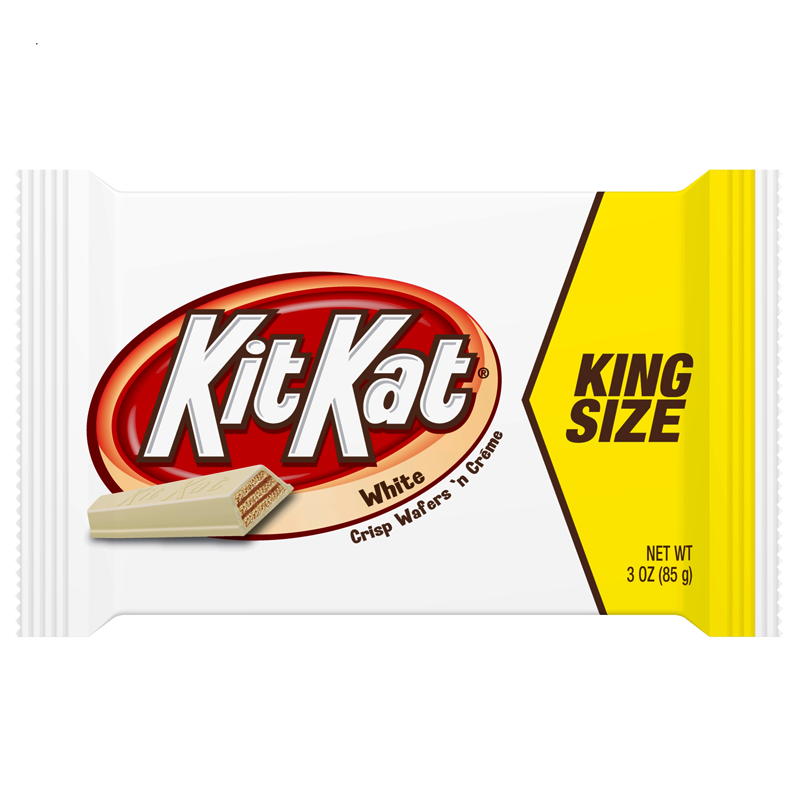 Kit Kat White King Size (3oz) - A Taste of the States