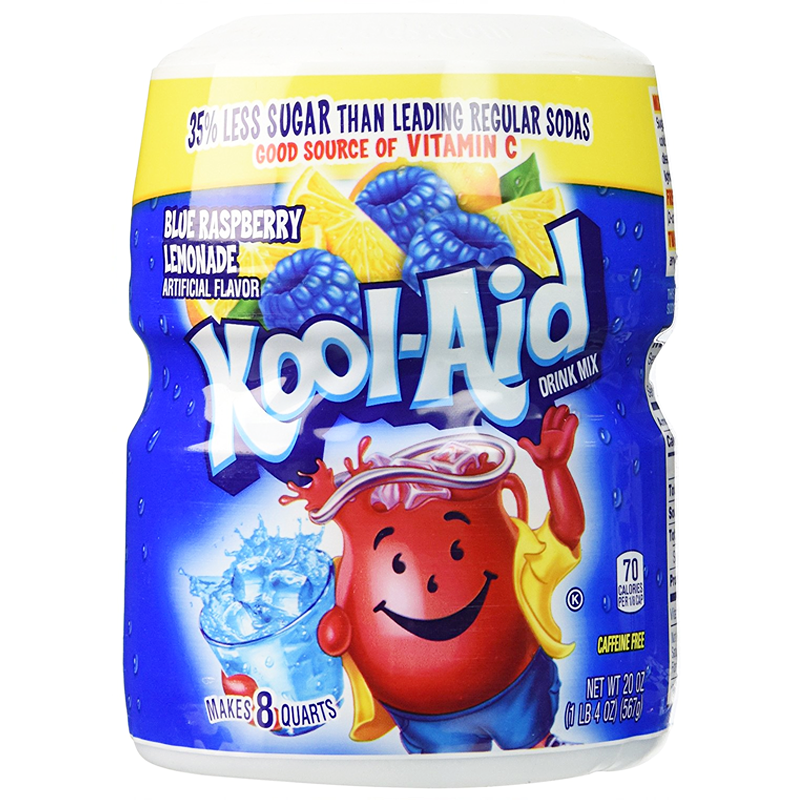 KOOL-AID Blue Raspberry Tub (19oz) 538g