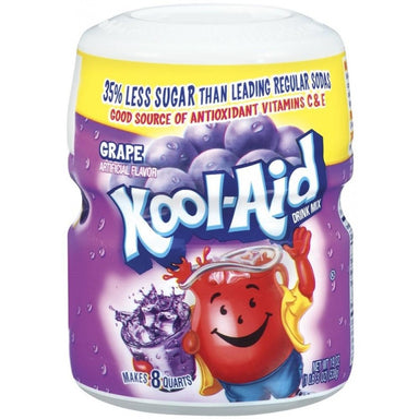 KOOL-AID Grape Tub (19oz) 538g - A Taste of the States