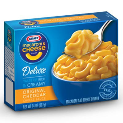 Kraft Deluxe Macaroni Cheese Dinner (14oz)