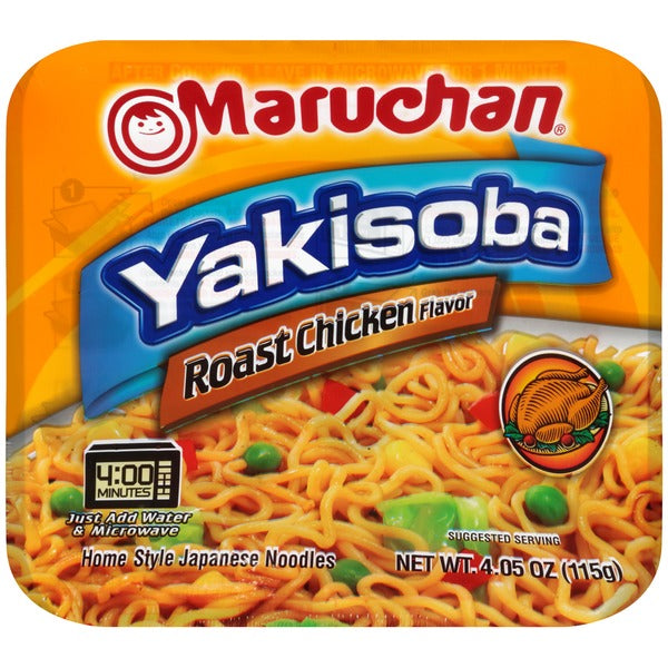 Maruchan Yakisoba Noodles | Roast Chicken (4.05oz) - A Taste of the States
