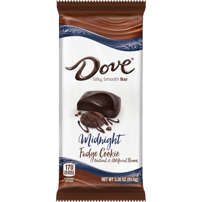 Dove Midnight Fudge Cookie Chocolate Bar (93g)