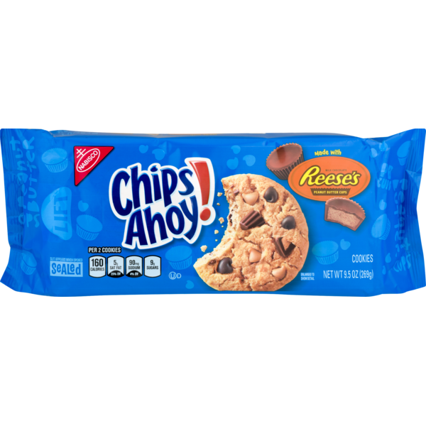 Chips Ahoy! Cookies with Reese's (9.5oz) BB: 02/02/19 - A Taste of the States