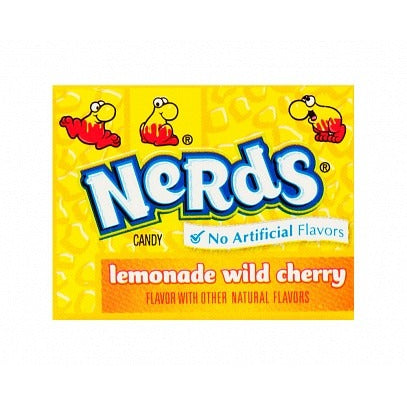 Wonka Nerds Lemonade Wild Cherry Double Dipped (Mini) - A Taste of the States