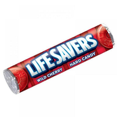 Lifesavers Wild Cherry Candy Roll (32g) - A Taste of the States