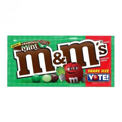 M&M's Crunchy Mint Share Size (Limited Edition) 2.83oz - A Taste of the States