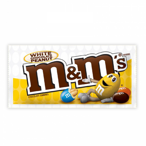 M&M's White Chocolate Peanut (1.4oz)