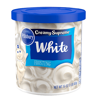 Pillsbury Creamy Supreme White Frosting (453g) - A Taste of the States