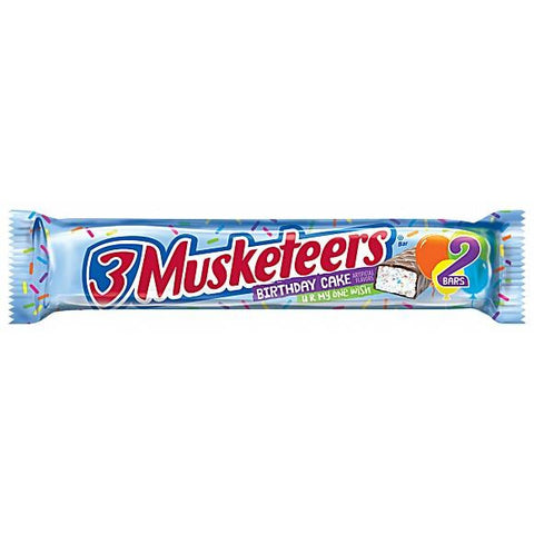 3 Musketeers Birthday Cake (King Size) (2.14oz) - A Taste of the States