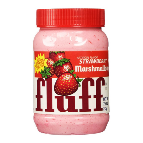 Marshmallow Strawberry Fluff (213g Jar) - A Taste of the States