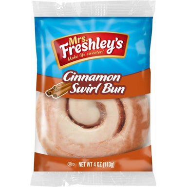 Mrs. Freshley's Cinnamon Swirl Bun (4oz) - A Taste of the States