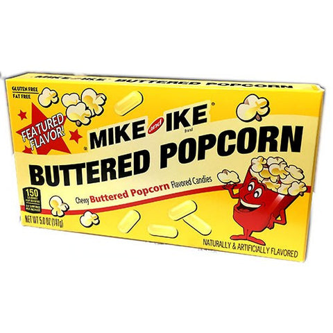 Mike & Ike Buttered Popcorn Theater Box (5oz) 141g