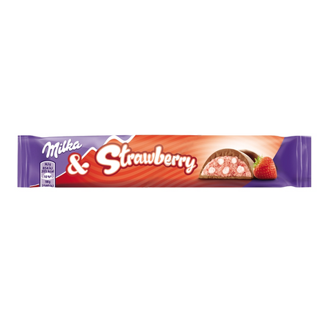 Milka Strawberry Bar (37g) - A Taste of the States