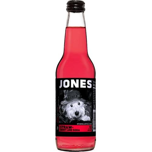 Jones Strawberry Lime Soda (12fl.oz) - A Taste of the States