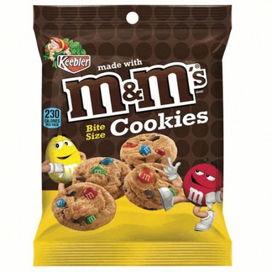 Keebler M&Ms Bite Size Cookies 1.6 OZ (45g) - A Taste of the States