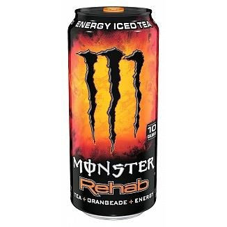 Monster Rehab Orange 15.5oz (440ml) - A Taste of the States