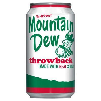 Mountain Dew USA Throwback (12fl.oz)