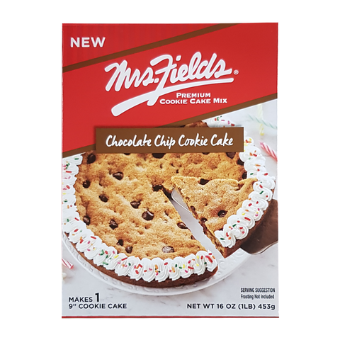 Mrs. Fields Chocolate Chip Cookie Cake Mix (16oz)