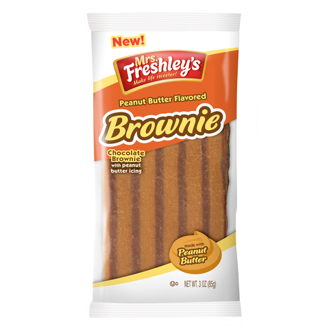 Mrs. Freshley's Peanut Butter Chocolate Brownie (3oz)