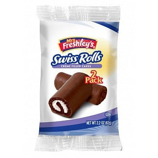 Mrs. Freshley's Swiss Rolls (twin pack) - A Taste of the States