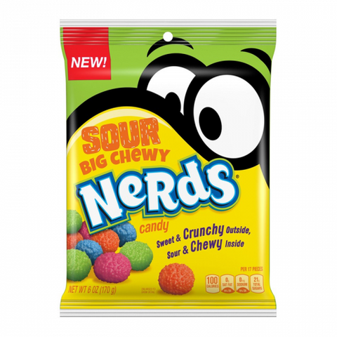 Wonka SOUR Big Chewy Nerds (6oz) - A Taste of the States