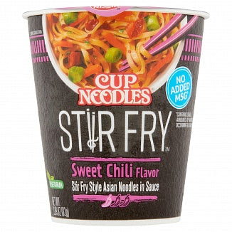 Nissin Cup Noodles: Stir Fry Sweet Chili (2.89oz)
