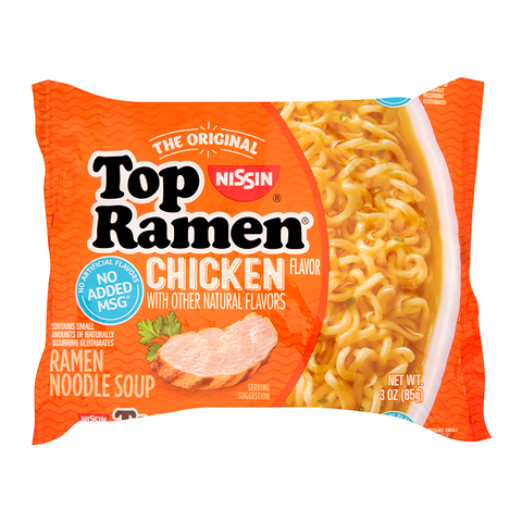 Nissin Top Ramen: Chicken (3oz)