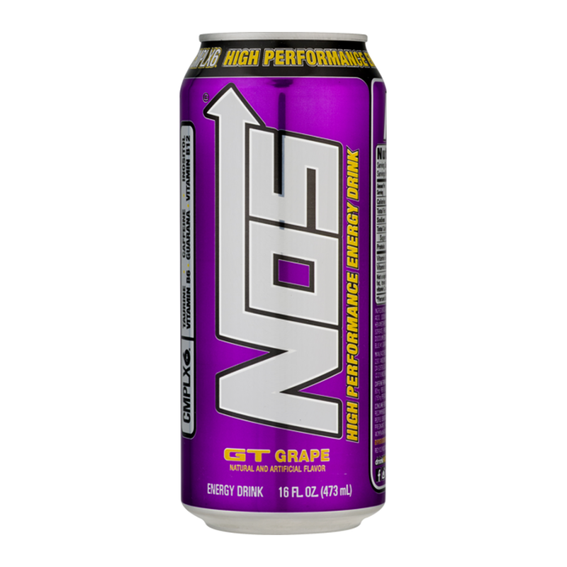 NOS Energy Drink: GT Grape (16oz)
