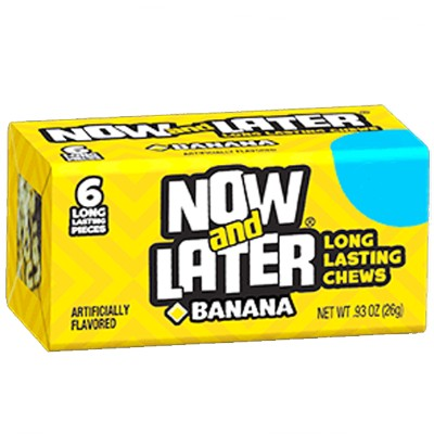 Now & Later Chews (Banana) 26g