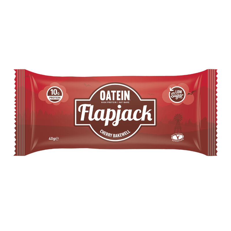 Oatein Flapjack: Cherry Bakewell (40g)