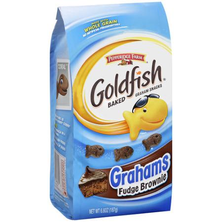 Goldfish Grahams Chocolate Fudge Brownie (6.6oz) - A Taste of the States