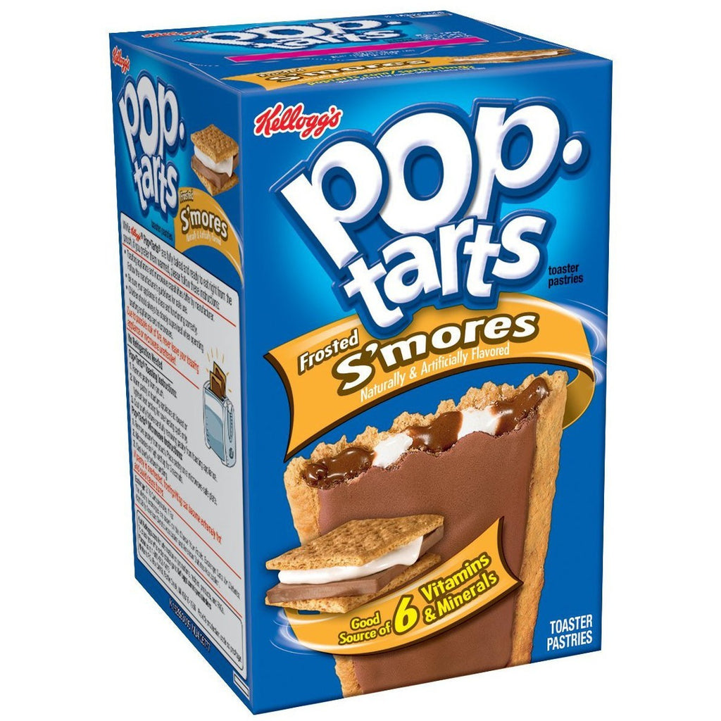 Kellogg's Pop Tarts S'mores (8 pack) - A Taste of the States