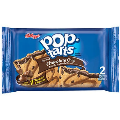 Kellogg's Pop Tarts Frosted Chocolate Chip (2 pack) - A Taste of the States