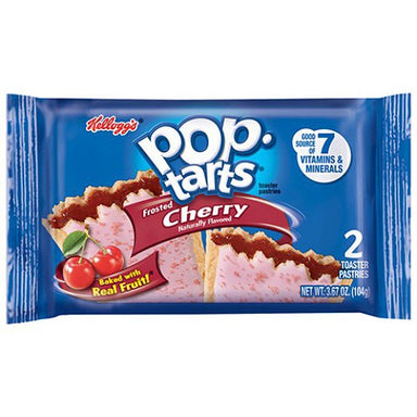 Kellogg's Pop Tarts Frosted Cherry (2 pack) - A Taste of the States