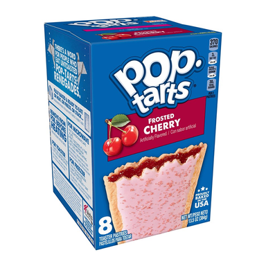 Kellogg's Pop Tarts Frosted Cherry (8 Pack) - A Taste of the States