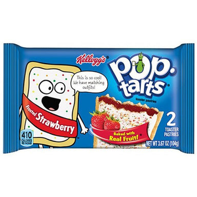 Kellogg's Pop Tarts Frosted Strawberry (2 pack) - A Taste of the States