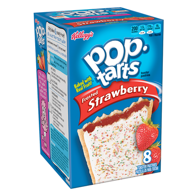 Kellogg's Pop Tarts Frosted Strawberry (8 Pack) - A Taste of the States