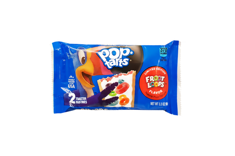Kellogg's Pop Tarts Froot Loops (2 pack)